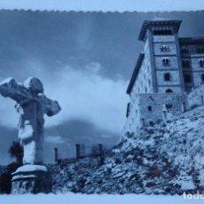 Postales: POSTAL BARBASTRO – MONASTERIO DEL PUEYO. Lote 110149355