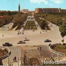 Postales: ZARAGOZA - 336 PARQUE PRIMO DE RIVERA. Lote 110228147