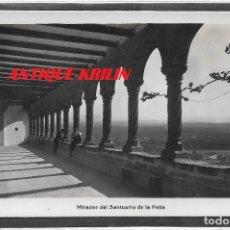 Postales: GRAUS .- MIRADOR DEL SANTUARIO DE LA PEÑA .- EDICION SISÓ . Lote 110230563