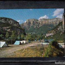 Postales: Nº 45 - TORLA. CAMPING DE ORDESA. Lote 110238539