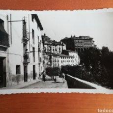 Postales: POSTAL TARAZONA PASEO GENERAL MOLA - ZARAGOZA ARAGÓN AÑO 1956. Lote 110259707