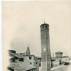 Postales: ZARAGOZA. TORRE NUEVA ( DERRIBADA ) FOTOTIPIA L. ESCOLA. Nº 27. REVERSO SIN DIVIDIR. SIN CIRCULAR. Lote 110542031