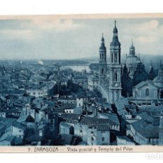 Postales: ZARAGOZA.- 7 VISTA PARCIAL Y TEMPLO DEL PILAR - L.ROISIN. Lote 111928375