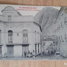 Postales: POSTAL ARAGON - ALHAMA DE ARAGON - BAÑOS NUEVOS DE SAN ROQUE - DE GASPAR PEREZ CANTARERO - SIN CIRC. Lote 112136583