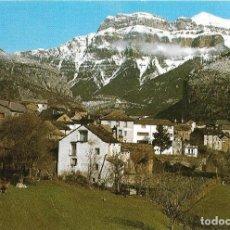 Postales: == PJ400 - POSTAL - TORLA - HUESCA - PIRINEO ARAGONES - VISTA PARCIAL - AL FONDO MONDARRUEGO. Lote 112170495