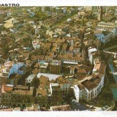 Postales: == PJ420 - POSTAL - BARBASTRO - HUESCA - VISTA AÉREA Y CANALIZACIÓN DEL RIO VERO. Lote 112177851