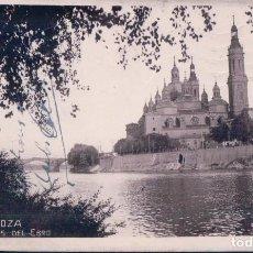 Postales: POSTAL ZARAGOZA 53 - ORILLAS DEL EBRO - CIRCULADA. Lote 112956839