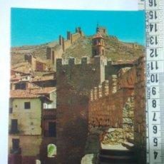 Postales: ANTIGUA FOTO POSTAL ALBARRACIN TERUEL AÑOS70-80 TORREON Y MURRALA EDIC.SICILIA. Lote 114287680