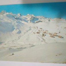 Postales: BONITA FOTO POSTAL POSTALES PIRINEO ARAGONES ,ESTACION INVERNA TODO NEVADO .EDI.SICILIA 27. Lote 114607112