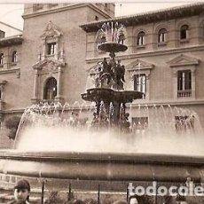 Postales: ANTIGUA POSTAL Nº 5 HUESCA FUENTE LUMINOSA DE LA PLAZA DE NAVARRA ESCRITA EDICIONES PEG. Lote 114847143