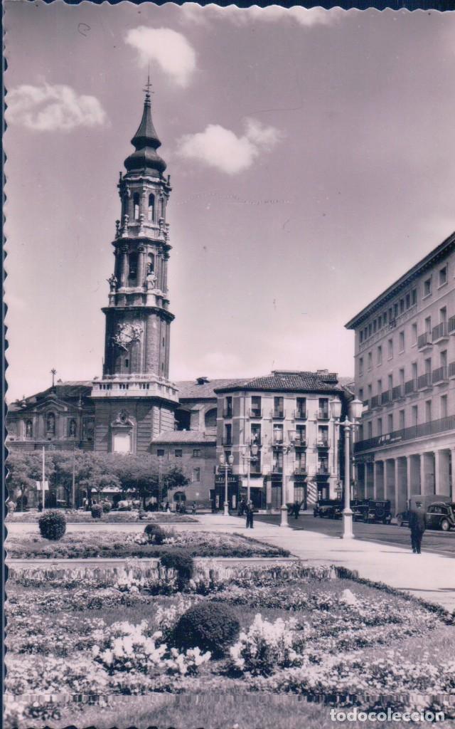 POSTAL ZARAGOZA 38 - CATEDRAL DE LA SEO - SICILIA (Postales - España - Aragón Antigua (hasta 1939))