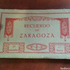 Postales: LOTE 20 POSTALES ZARAGOZA ANTIGUAS THOMAS. Lote 114880551