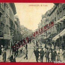 Postales: POSTAL ZARAGOZA, EL COSO, P88402. Lote 115141987