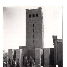 Postales: ZARAGOZA.- PADRES CAPUCHINOS. TORRE MAUSOLEO DEI CADUTI ITALIANI. ED. SICILIA. Lote 115341907