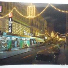 Postales: POSTAL HUESCA COSO ALTO ILUMINADO. Lote 115366103