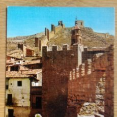 Postales: ALBARRACIN - TORREON Y MURALLA. Lote 115397687