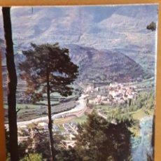 Postales: BROTO / PIRINEOS DE HUESCA / VISTA GENERAL / AIN CIRCULAR / AÑO 1974. ENVÍO INCLUIDO.. Lote 115398863