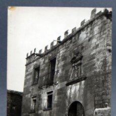 Postales: POSTAL SOS DEL REY CATÓLICO PALACIO DE SADA FOTO MONTES ESCRITA 1929. Lote 115484759