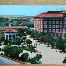 Cartoline: TERUEL - GLORIETA DE GALAN Y CASTILLO. Lote 115485959