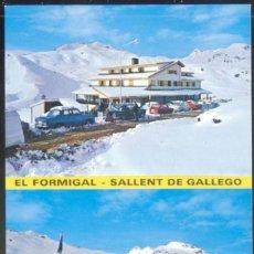 Postales: 21- FORMIGAL - SALLENT DE GALLEGO.- ESTACION INVERNAL DEL FORMIGAL. Lote 116751187