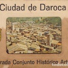 Postales: CIUDAD DE DAROCA (ZARAGOZA) LIBRO COMPLETO DE 16 POSTALES AÑO 1971 ESCUDO DE ORO. Lote 116822943