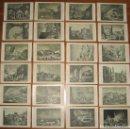 Postales: RUINAS DE ZARAGOZA. LOTE DE 24 TARJETAS POSTALES EDITADAS CON OCASION DEL CENTENARIO DE LOS SITIOS.. Lote 116831939