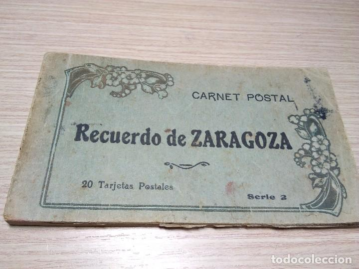 ALBUM DE 20 POSTALES ANTIGUAS. ZARAGOZA. (Postales - España - Aragón Antigua (hasta 1939))