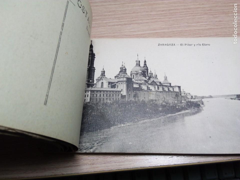 Postales: ALBUM DE 20 POSTALES ANTIGUAS. ZARAGOZA. - Foto 2 - 116832939