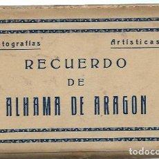 Postales: 15460- BLOC DE 10 POSTALES -ALHAMA DE ARAGON -EDIC. ARRIBAS - ZARAGOZA. Lote 118241587