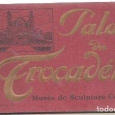 Postales: 15460- BLOC DE 20 POSTALES - DEL PALACIO DEL TROCADERO - 2º EDIC. . Lote 118245715