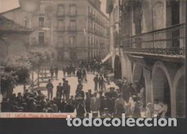 POSTAL DE JACA - PLAZA DE LA CONSTITUCIÓN - Nº 15 - F.H (Postales - España - Aragón Antigua (hasta 1939))
