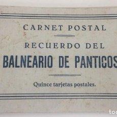 Postales: LIBRILLO DEL BALNEARIO DE PANTICOSA (HUESCA) CON 15 TARJETAS POSTALES, VER TODAS LAS FOTOGRAFIAS QUE. Lote 118476731