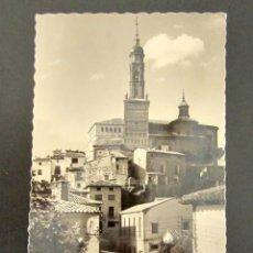 Postales: POSTAL ZARAGOZA. ATECA. VISTA PARCIAL, AL FONDO IGLESIA DE SANTA MARÍA. . Lote 118568123