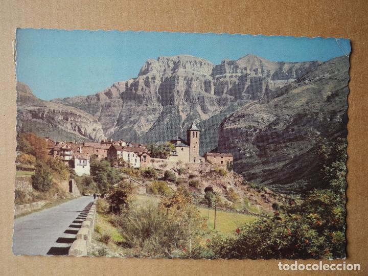 POSTAL 302 TORLA VISTA PARCIAL Y EL MONDARRUEGO AL FONDO. HUESCA. CIRCULADA (Postales - España - Aragón Moderna (desde 1.940))
