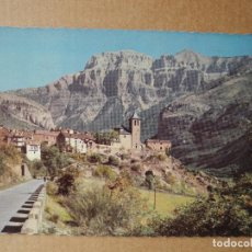 Postales: POSTAL 302 TORLA VISTA PARCIAL Y EL MONDARRUEGO AL FONDO. HUESCA. CIRCULADA. Lote 118819667