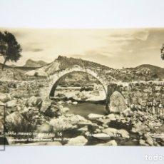 Postales: POSTAL FOTÓGRAFICA - HUESCA, BOLTAÑA Nº 16 VISTA DESDE FERRERA - EDIT. ZERKOWITZ - AÑOS 50. Lote 118887696