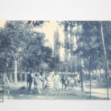 Postales: ANTIGUA POSTAL ANIMADA - BIESCAS, PASEO DE LA CONCHADA - AÑOS 20. Lote 118890019