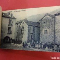 Postales: BLOC 18 POSTALES RECUERDO DEL VALLE DE ORDESA. SEGUNDA SERIE. COMPLETO. INCLUYE UNA DOBLE. Lote 119897791