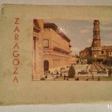 Postales: LIBRO ACORDEON 12 POSTALES COLOR ZARAGOZA - ED GARCIA GARRABELLA. Lote 120097555