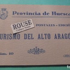 Postales: TACO POPSTALES - PROVINCIA DE HUESCA POSTALES . EDICION TURISMO DEL ALTO ARAGON Nº 10 EDT. V. CAMPO . Lote 120323043