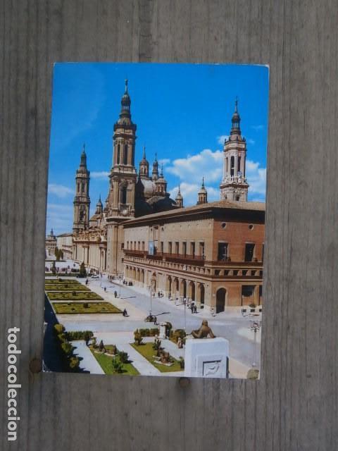 POSTAL ZARAGOZA, BASILICA DEL PILAR (Postales - España - Aragón Moderna (desde 1.940))