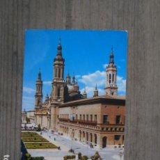 Postales: POSTAL ZARAGOZA, BASILICA DEL PILAR . Lote 120620655