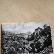 Postales: POSTAL ALBARRACÍN. VISTA PARCIAL Y RIO GUADALAVIAR. NO CIRCULADA.. Lote 120620954