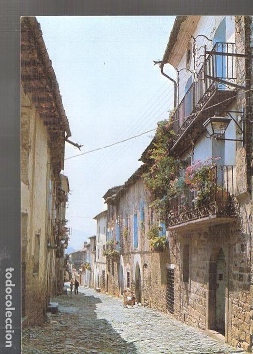 CALLE GONZALO I. AINSA. PIRINEO ARAGONÉS. HUESCA. (Postales - España - Aragón Moderna (desde 1.940))