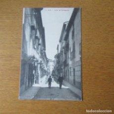 Postales: ANTIGUA POSTAL ZARAGOZA, JACA CALLE DE ECHEGARAY. Lote 121910411