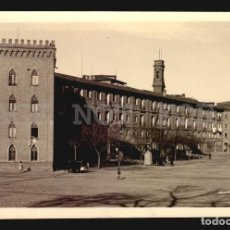 Postales: ZARAGOZA CASTILO DE LA ALJAFERIA FOTO REAL TARJETA POSTAL CA1900. Lote 121913371