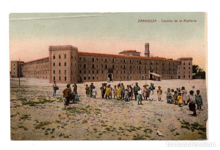 ZARAGOZA.- CASTILLO DE ALJAFERIA (Postales - España - Aragón Antigua (hasta 1939))