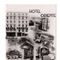 Postales: ZARAGOZA.- HOTEL ORIENTE. SITUADO EN EL SITIO MAS CENTRICO DE ZARAGOZA. Lote 122301079