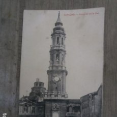 Postales: POSTAL ZARAGOZA, CATEDRAL DE LA SEO. Lote 122382163