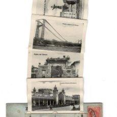 Postales: ZARAGOZA - IGLESIA DEL PILAR - DESPLEGLABLE. EDUARDO SCHILLING. Lote 122483955
